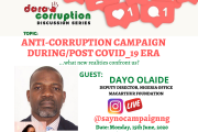 COVID19 MET AN ENVIRONMENT OF WEAK INSTITUTIONS – DAYO OLAIDE